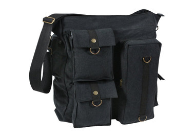 Vintage Multi Pocket Messenger Bag
