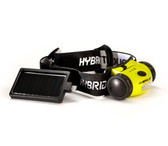 HYbridLight 75 Lumen Solar Head Lamp