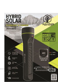 HL 250 LUMEN SOLAR FLASHLIGHT-RAPID CHARGER