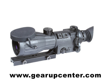 "ORION 5X Gen 1+ Night Vision Rifle Scope Description The Armasight Orion Riflescopes series is a collection of high-performance, mid-range night vision weapon sights that provide excellent observational, target acquisition, and aiming capabilities for the most demanding sports shooters, hunters, and security personnel.  Armasight Orion series sights are arguably the most dependable, highest-performing weapon sights you can find in the Gen. 1+ category. We have housed our top class optics and image intensifier tubes within ruggedly designed, rubberized aluminum bodies. For improved accuracy and ergonomics, all Orion series scopes feature precision top wheel focus.  The Armasight Orion series is the best solution for any tactical shooter or hunter seeking to improve the accuracy of their shooting in dark environments.  Features:  - 5x magnification - Shock-protected optics - Illuminated red cross reticle - Simple, easy to operate controls and adjustments - Water-resistant design - Rubberized body - Ability to mount to standard weaver rails - Variable reticle brightness - Detachable, long-range infrared illuminator - Limited Two-Year Warranty  Accessories Included:  - Lens Tissue - One Lithium Battery CR123A - Instruction Manual with Warranty Card - Packing Box  Specifications:  - IIT Generation: Gen 1+ - Resolution: 30-40 lp/mm - Magnification: 5x - Exit Pupil Diameter: 8mm - Windage and Elevation Adjustment, Deg: 1/2 MOA - Lens System: F1.6, F108mm - Field Of View: 10° - Range of Focus: 10m To Infinity - Diopter Adjustment: +5 to -5 Diopter - Controls: Direct - Infrared Illuminator: Detachable Long Range Illuminator - IR Indicator: No - Low Battery Indicator: Yes (In Field Of View) - Power Supply: 1 x CR123A Lithium 3V - Environmental Rating: Water-Resistant - Battery Life: 40 Hours - Operating Temperature: -40 to +50 °C - Storage Temperature: -50 to +60 °C - Dimensions: 12.7"" x 4.6"" x 4.1"" - Weight: 3.7 lbs"