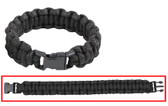 PARACORD BRACELET- BLACK