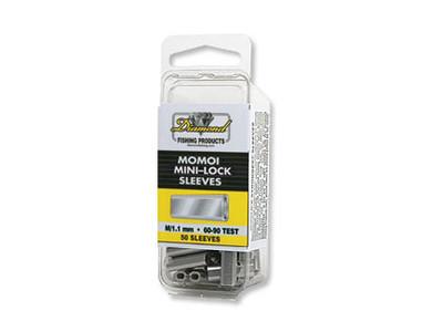 Momoi Silver Lock Sleeve Crimps