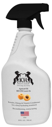 Knotty Horse Re-Con Leave-in Conditioner - strengthens and conditions hair