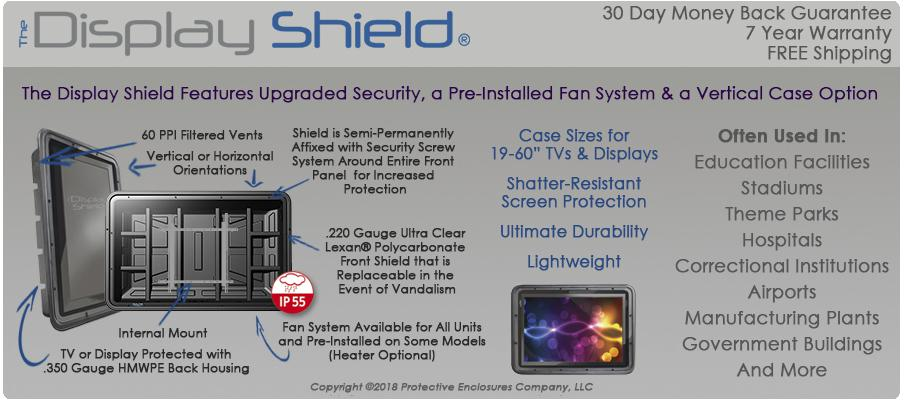 Compare The TV Shield and The Display Shield