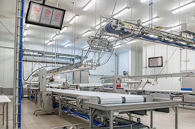 Digital Signage for Manufacturing and Food Processing Facilities