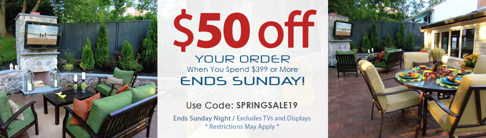 The Display Shield 2019 Spring Sale and Coupon for Outdoor Digital Signage