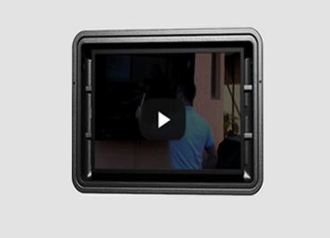 Detention monitor Case The Display Shield 360 demonstration video