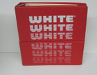 White Superlock Owner's Workbook 634D