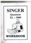 Singer Quantum XL-5000 Workbook