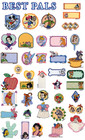 Brother Embroidery Card Disney Best Pals SA-303D