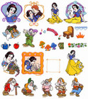 Brother Embroidery Card Snow White SA-317D