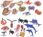 Elna EnVision Card Ocean Life Designs #104