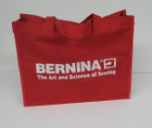 Bernina Red Canvas Tote
