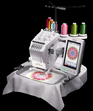 Are you ready to take your embroidery to the next level? The Baby Lock Endurance II six-needle machine will get you there. It's ideal for getting more projects done or even starting an embroidery business. The Baby Lock Endurance II will help you on your path to embroidery success.