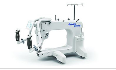 THE Dream Quilter™ 15 was crafted with all of the high-end long-arm features you desire in a truly affordable quilting machine.