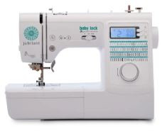 Want a machine that's a jack-of-all-trades yet small enough to take on the road, to a class or even to a friend's house? Then it's time to celebrate, because you found it. The Jubilant is ideal for a variety of sewing projects like quilt piecing, smaller home décor and even basic garments. It's a machine that gives you plenty of genuine opportunities to let your creativity shine and be jubilant.