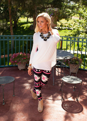 Mommy Pink Arrow Legging  CLEARANCE