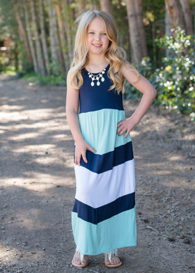 Girls Pretty Girl Maxi Blue CLEARANCE
