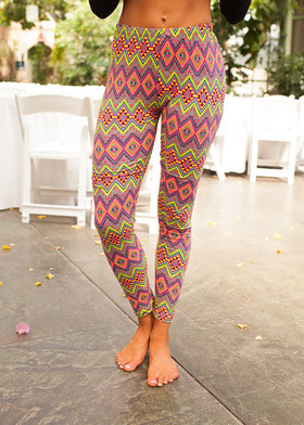 Mommy Neon Fun Leggings mvb