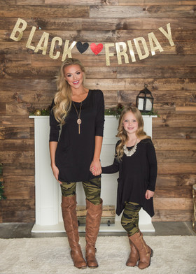 Girls Camo for Life Leggings