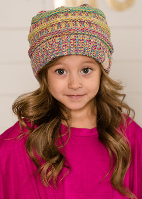 Multi Colored Beanie CLEARANCE