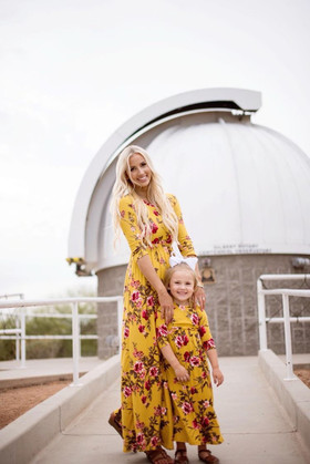 Mommy Beautiful Dream Floral Pocket Maxi Dress Yellow