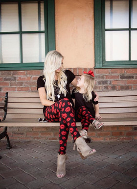 Mommy Kiss from Heaven Leggings
