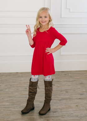 (Cyber Monday) Girls Build Me a Snowman Leggings