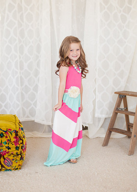 Girls Pretty Girl Maxi Pink CLEARANCE