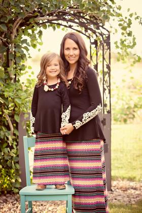 Mommy Autumn Carnival Maxi Skirt CLEARANCE