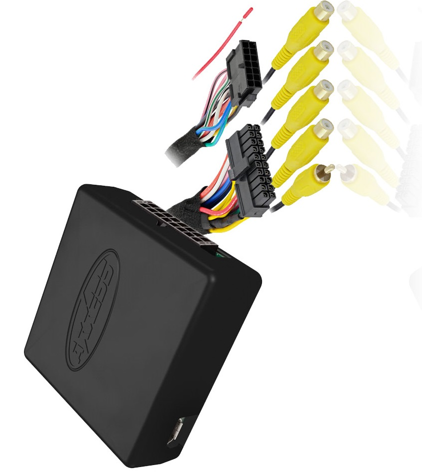 Axxess AX-ADDCAM Wiring Harness Universal Camera Interface For Factory Display