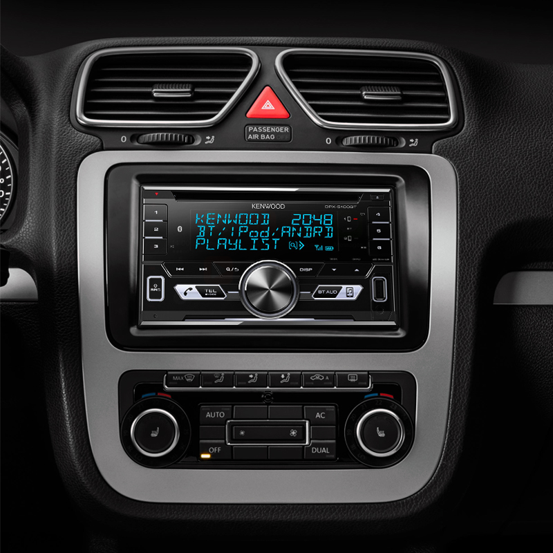Kenwood DPX-7100DAB Double DIN Android Receiver with Siri  Support/CD/MP3/Bluetooth/USB/DAB+ Tuner