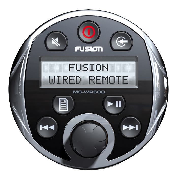 fusion-ms-wr600c-wired-marine-remote-stereo-frankies Radio Wiring Diagram Sony Rm X on