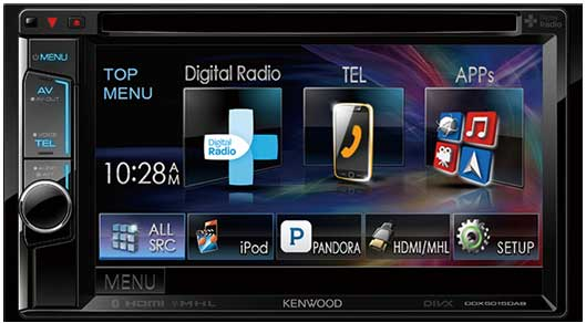 KENWOOD DDX4017BT 6 2