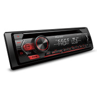 Pioneer DEH-S1250UB Car Stereo with USB, Android Smartphone Support, Aux-In & 2 x RCA Pre-out