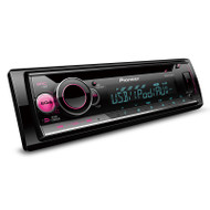 Pioneer DEH-S2250UI Car Stereo with Smartphone Support, USB, RCA Pre-outs (2) & Aux-In