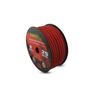 DNA PC4R 25m of 4 Gauge Power Cable Frosted Red