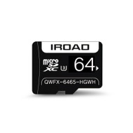IROAD 64GB Grade 3 Class 10 Micro SD Card to Suit iRoad Dash Cams