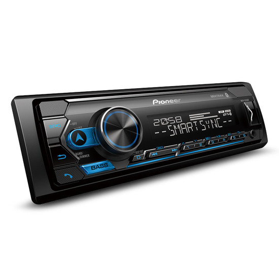 Pioneer MVH-S325BT Multimedia Tuner with Dual Bluetooth, Spotify, Smartphone Connectivity & Siri Eyes Free