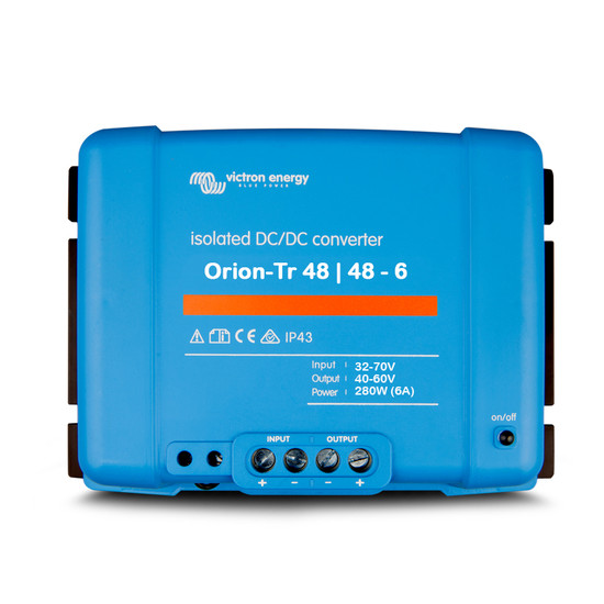 Victron ORI484828110 280W 48/48-6A Orion-Tr Isolated DC-DC Converter