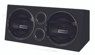 "Fusion EN-AB2122 - Dual 12"" Active Wedge Subwoofer System"