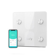 eufy T9146H21 Full-Body Smart Scale C1 w/ Bluetooth & Large LED Display - White
