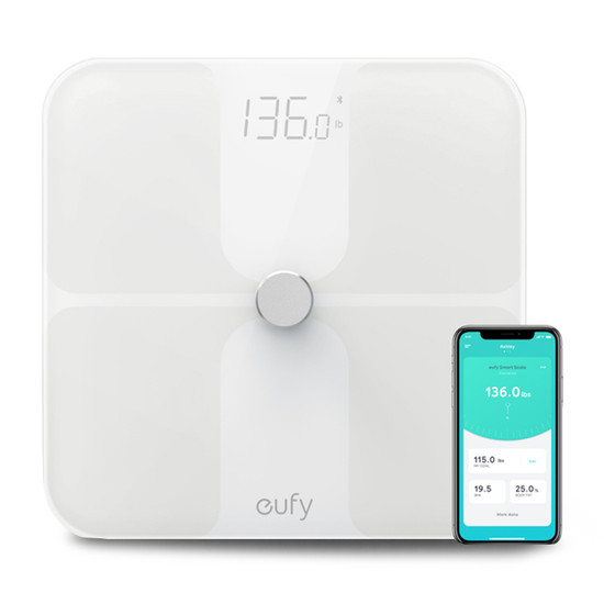 eufy T9140021 Full-Body Smart Scale - White