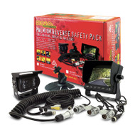 """DNA RV50PK 5"""" 3-Channel LCD Rearview Screen & CCD Camera Pack"""