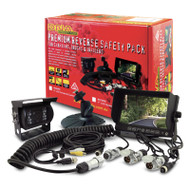 """DNA RV70PK 7"""" 3-Channel LCD Rearview Screen & CCD Camera Pack"""
