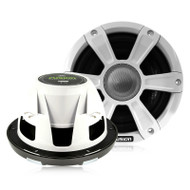 "Fusion SG-FL77SPW - 7.7"" 280 WATT Coaxial Sports White Marine Speaker with LED"