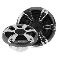 "Fusion SG-SL10SPC - 10"" 450 WATT Sports Chrome Marine Subwoofer with LED"