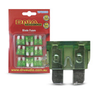 DNA WFB030 30 Amp Blade Fuse - 1 Pack of 10