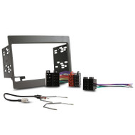DNA WHF104GKIT Double DIN Install Kit to Suit Holden Commodore VY-VZ Grey
