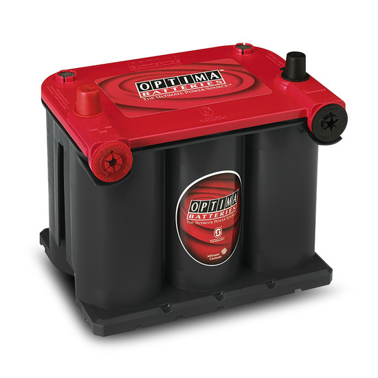 Optima 8022-255 12V 44Ah Group 75/25 Red Top High Power Starting Battery